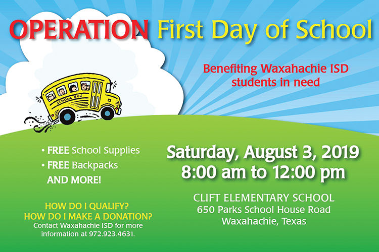 Operation First Day of School