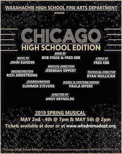 WHS Drama Department to present 'Chicago'