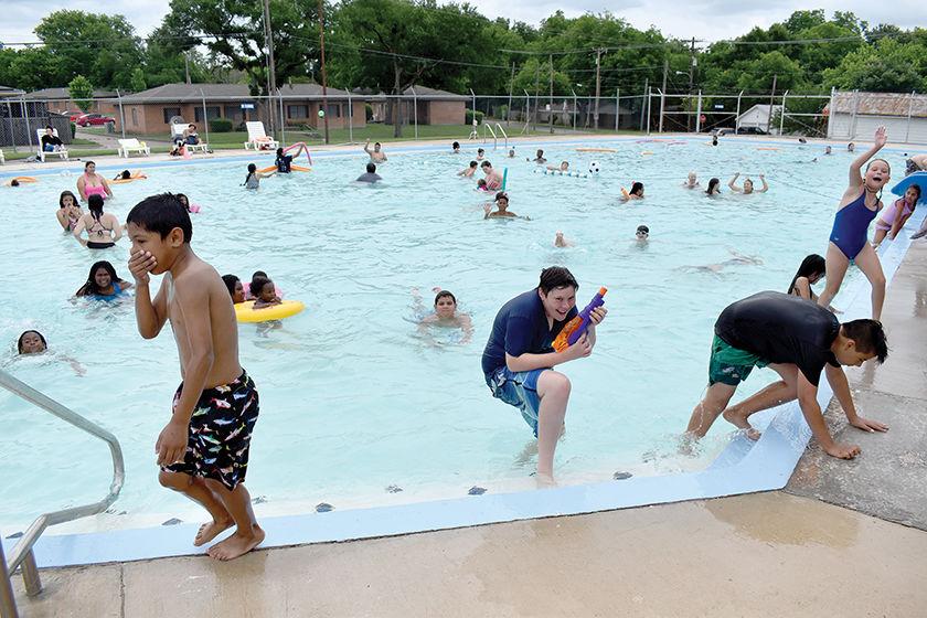 Summer Swim Calling