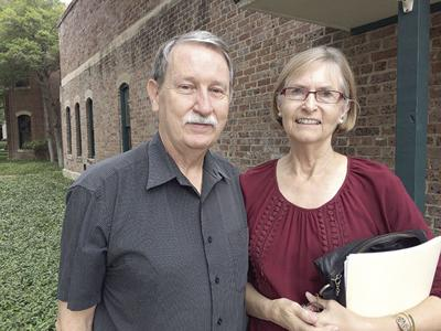 Kirk Hunter and Maureen Moore