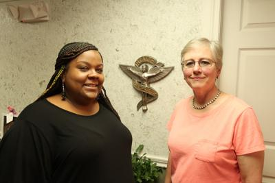 Krystle Moreland-Pace and Linda Cosgrove