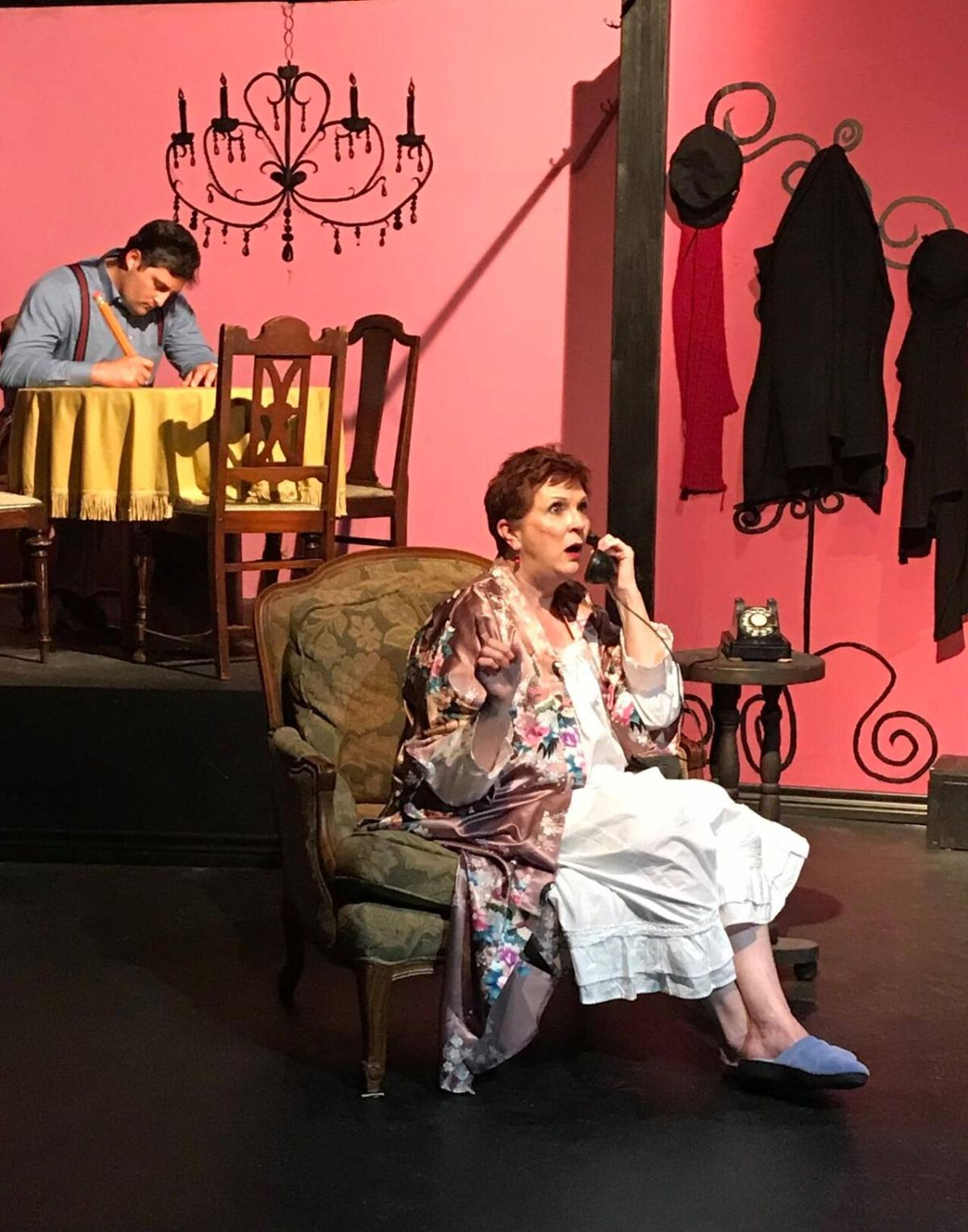 Glass Menagerie Rosewell and Sullivan on phone.jpg