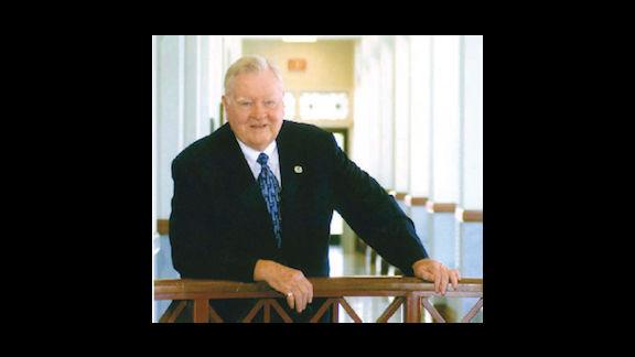 Joe Jenkins at city hall