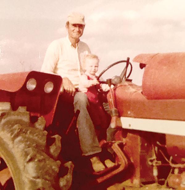 Daughter of a peanut farmer