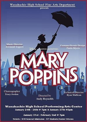 WHS production of 'Mary Poppins'