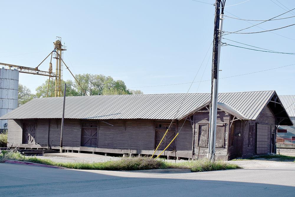 Rail freight depot