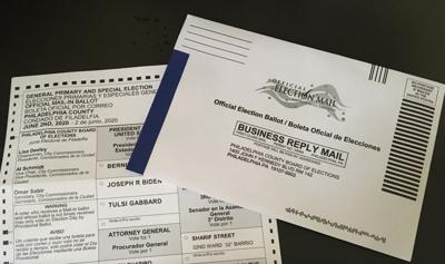 PA mail-in ballots