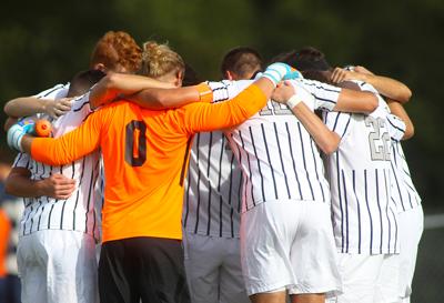 Men's Soccer: Titans Drop PAC Semifinal Matchup to Geneva in PKs