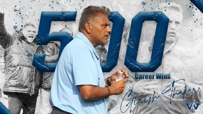 Congratulations to the true G, Head Coach Girish Thakar on surpassing 500 combined career wins!