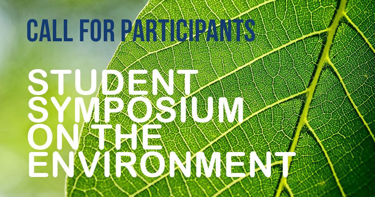 call for environmental symposium
