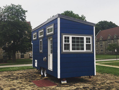 Tiny House Moves to Campus