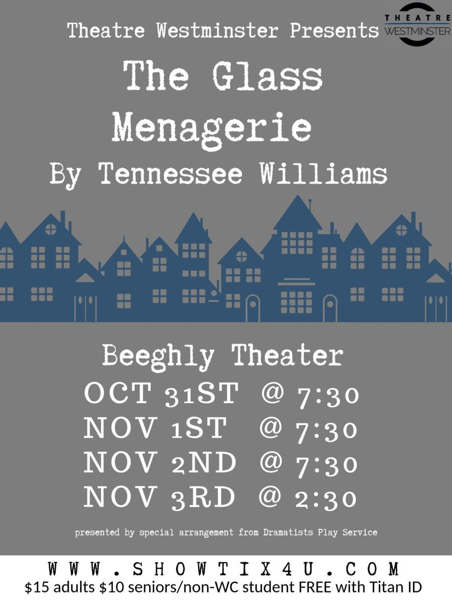 Theatre Westminster presents The Glass Menagerie