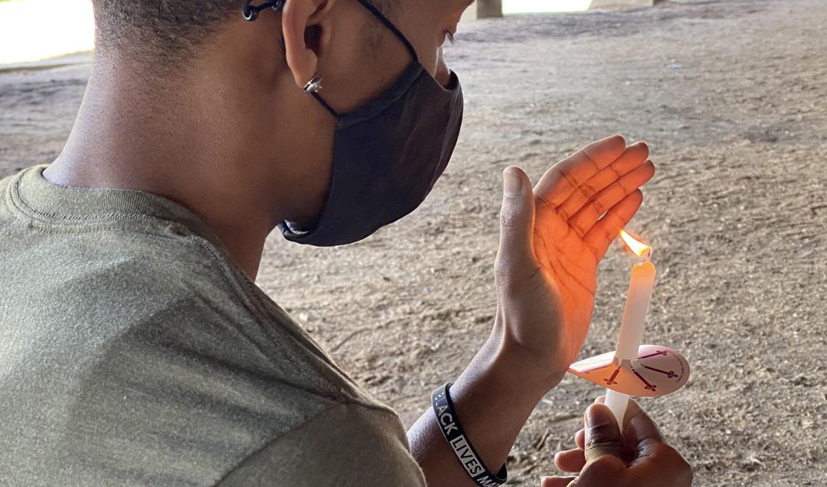 BLM Candlelight Vigil