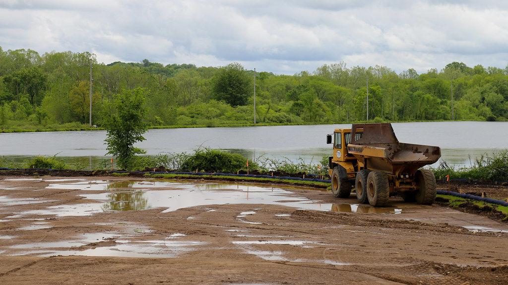 Summer 2020 construction (Hoyt, UPMC Sports Complex)