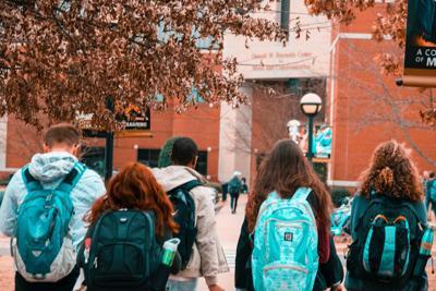 generic campus in fall