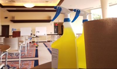 Classroom cleaning supplies