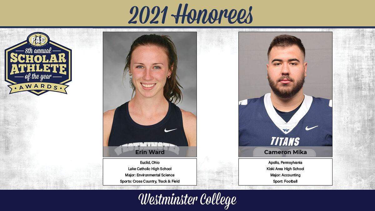 Ward and Mika named PAC Scholar-Athletes of the Year