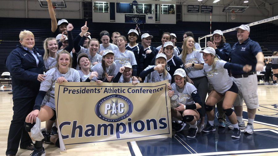 2019 PAC Volleyball Champs- Westminster College