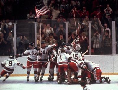 FILE - In this Feb. 22, 1980 Winter Olympics in Lake Placid, N.Y. (AP Photo/File)