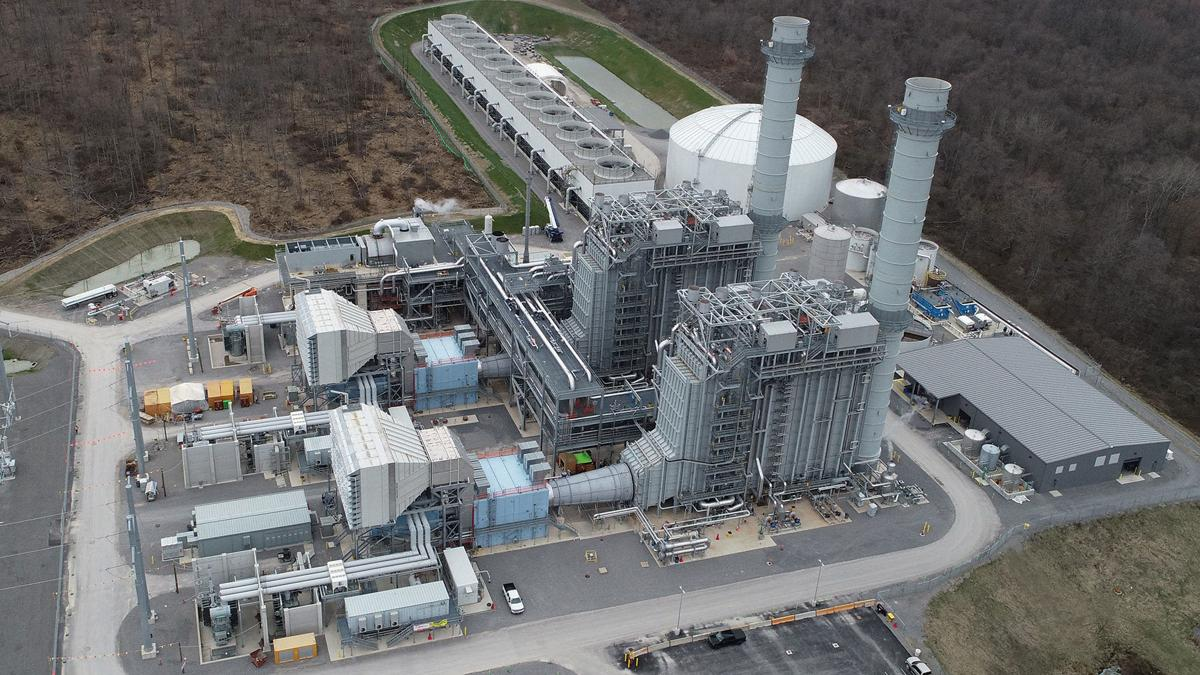 Hickory Run Energy Power Plant