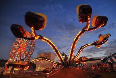 Lawrence County Fair carnival
