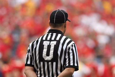 College football referee