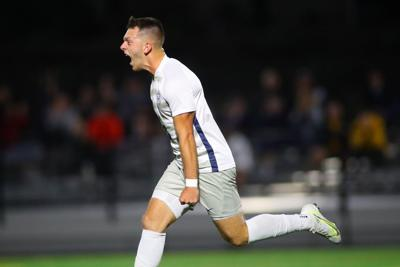 Men's Soccer: Caterino Leads Titans Past Gators