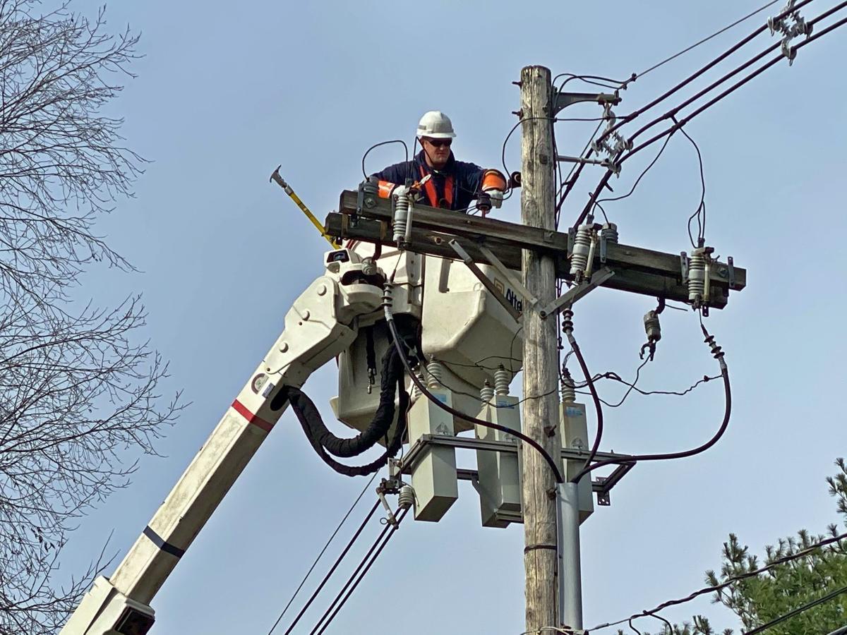 power line repais