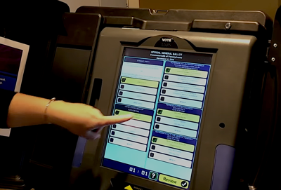 voting machine Pennsylvania