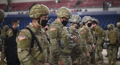 Some Pennsylvania Guard will be in Washington until March yesterday