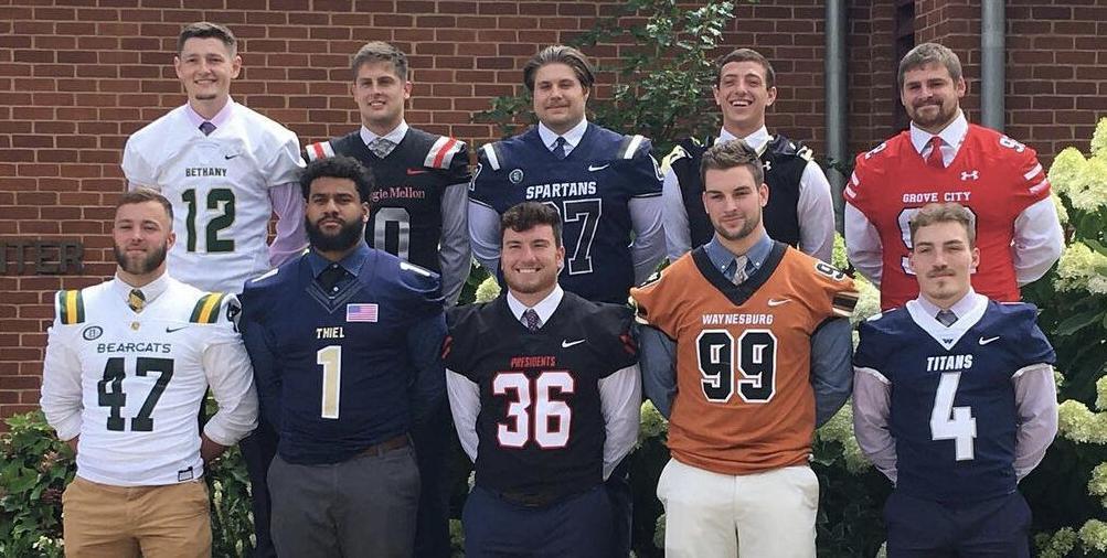 Player representatives of all the PAC membership schools.