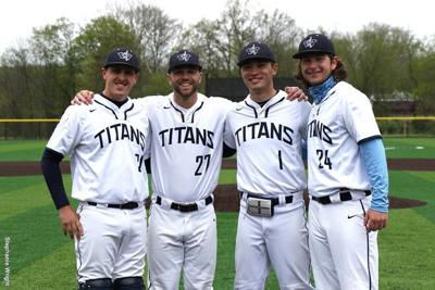 Baseball: Titans Win Game Two of Chatham Doubleheader on Senior Day