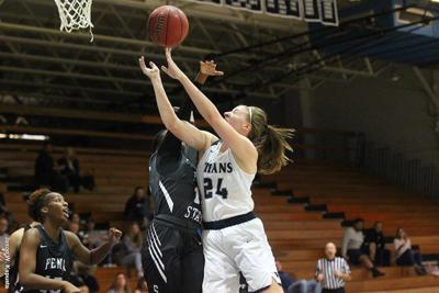 Women's Basketball: Scott Wins 200th Career Game, Titans Roll Past Nittany Lions