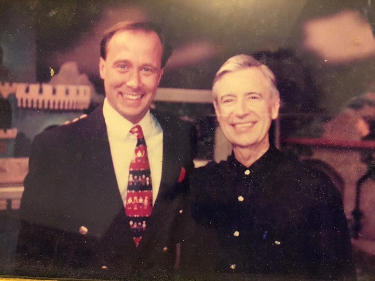 Todd Cole and Fred Rogers