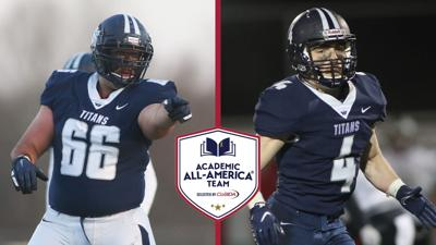 Football: Mika and Barr Named CoSIDA Academic All-Americans