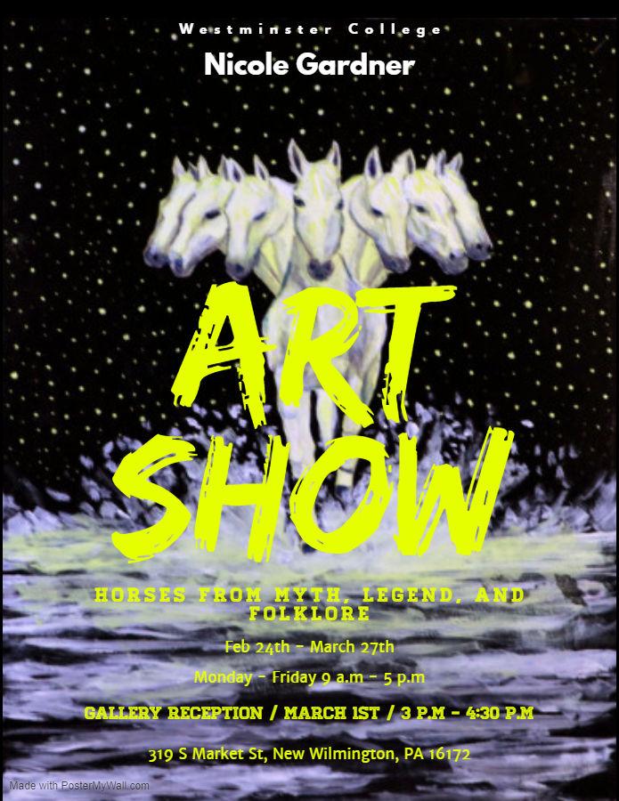 2020 Senior Honors Art Show