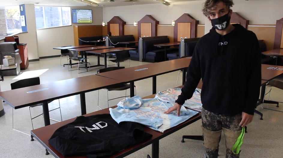 VIDEO! Titan soccer player uses his longtime passion for fashion to build his own brand