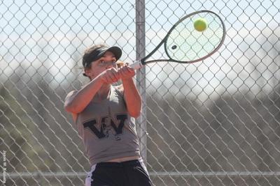 Women's Tennis: Titans Hand Franciscan First PAC Loss in Final Regular Season Match