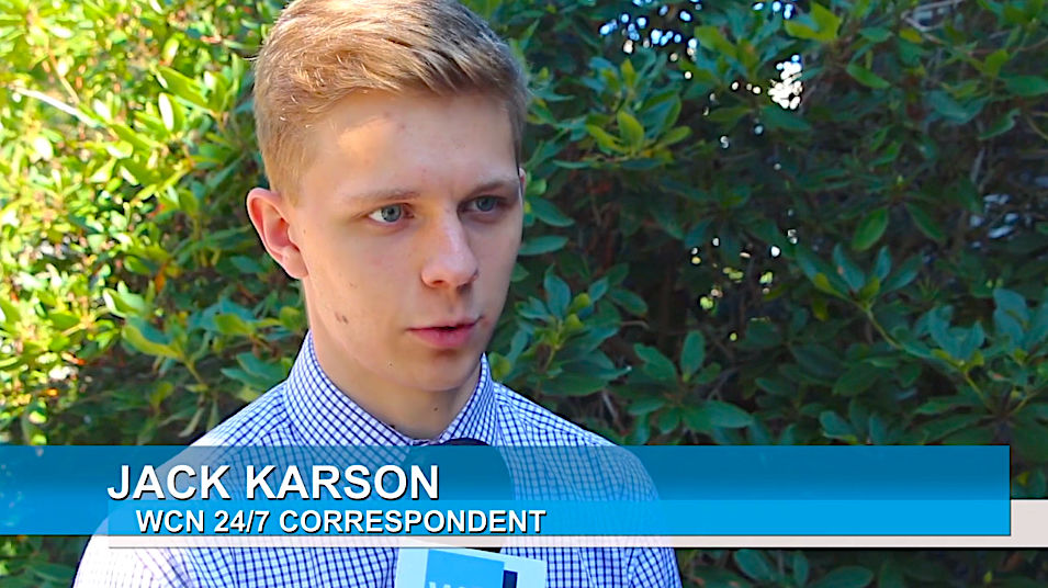 Karson named CBI National Finalist for best feature news reporting