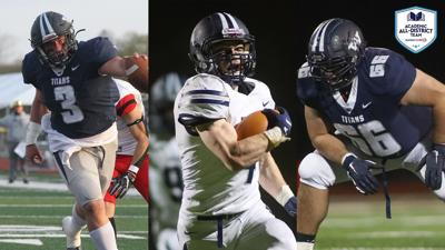 Football: Three Titans Collect CoSIDA Academic All-District Honors