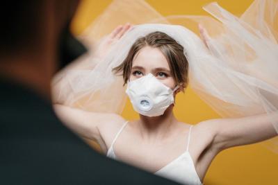 coronavirus bride