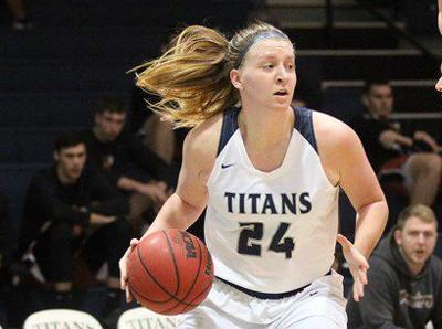 Women's Basketball: Titans Open Season with Win at Houghton