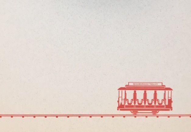 Trolley Stationery