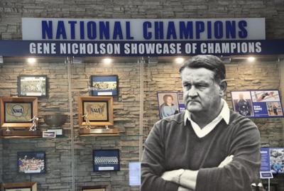 Gene Nicholson Showcase of Champions trophy case revealed