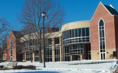 Campus Center in Jan.