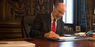 wolf signs bill
