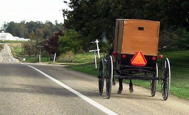 Amish in Volant