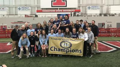 Westminster women win second-straight PAC indoor track and field title