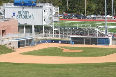 empty baseball field at WC