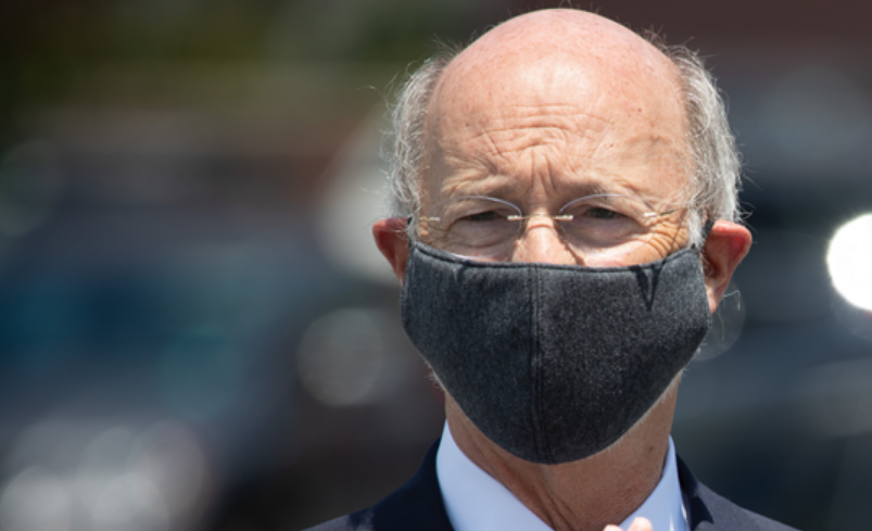 Gov. Wolf with mask